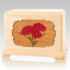 Carnation Maple Hampton Cremation Urn