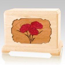Carnation Maple Hampton Cremation Urn
