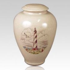 Astragal Ceramic Cremation Urn