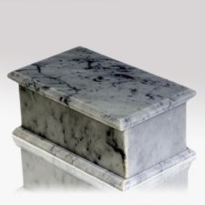Casa Bianco Stone Pet Urn