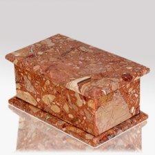 Casa Breccia Stone Pet Urn
