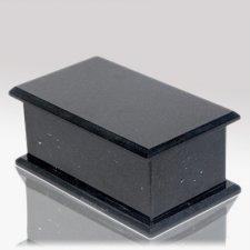 Casa Nero Stone Pet Urn