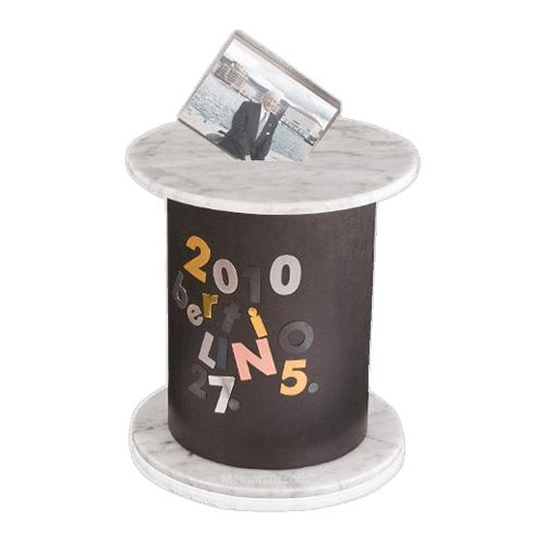 Cylinder Artistic Cremation Urn