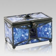 Castle Glass Pet Urn