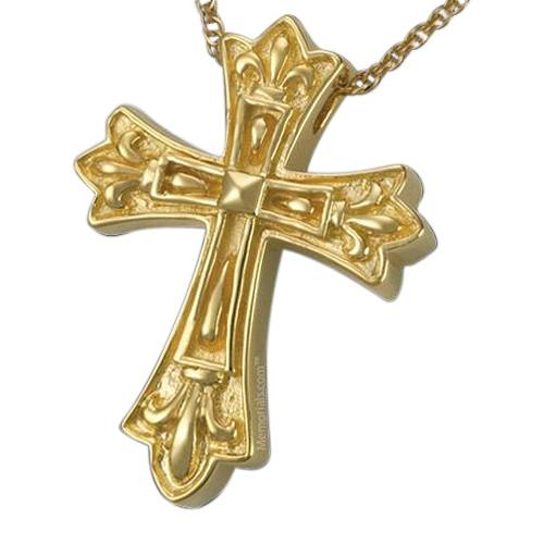 Cathedral Cross Cremation Pendant II