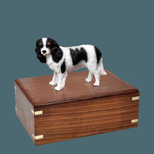 Cavalier Charles Spaniel Medium Doggy Urn