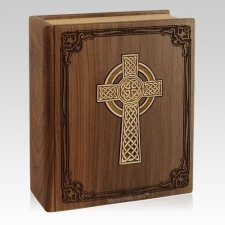 Celtic Bible Cremation Urn