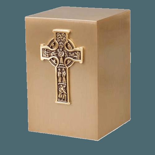 Celtic Bronze Cremation Urn