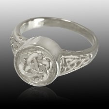 Celtic Cremation Ring III