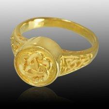 Celtic Cremation Ring IV