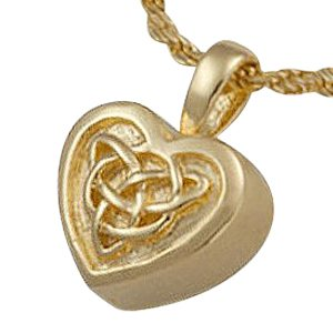 Celtic Heart Cremation Jewelry II