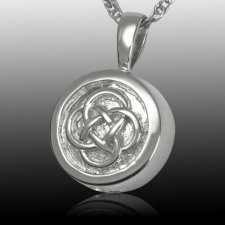 Celtic Knot Cremation Pendant III