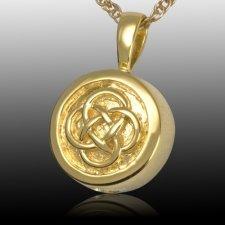 Celtic Knot Cremation Pendant IV