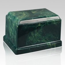 Cherish Forest Marble Cremation Urn