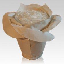 Champagne Rose Cremation Urn