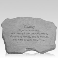 Charity Memorial Stone
