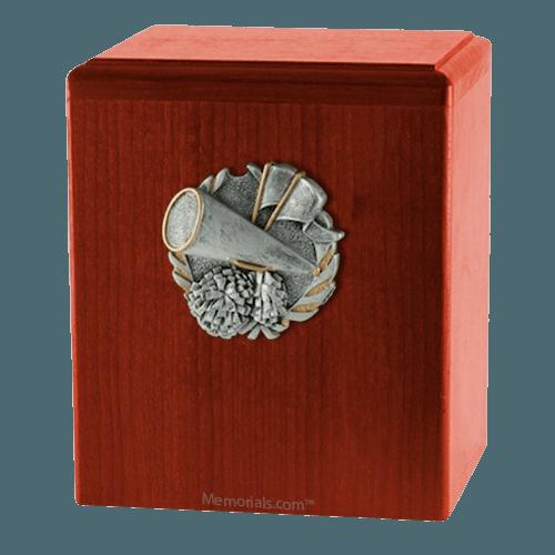 Cheerleader Cherry Cremation Urn
