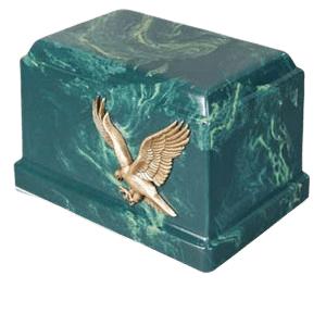 Cherish Eagle Marble Cremation Urn