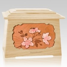 Cherry Blossom Maple Aristocrat Cremation Urn