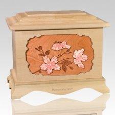 Cherry Blossom Maple Cremation Urn