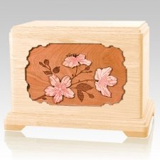 Cherry Blossom Maple Hampton Cremation Urn