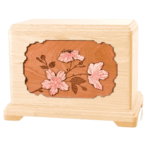 Cherry Blossom Maple Hampton Cremation Urn