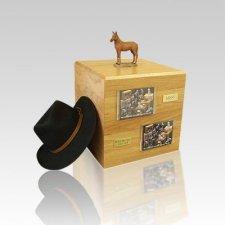 Chesnut Standing Full Size Small Horse Urn