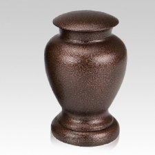 Chestnut Metal Pet Urn