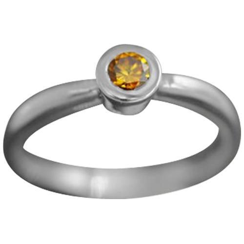 Chic Bezel Set Ring
