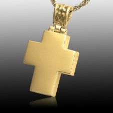 Chic Cross Cremation Pendant IV