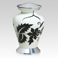 Chic Metal Cremation Urn