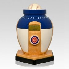 Chicago Cubs Baseball Cremation Urn