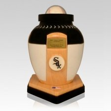 Chicago White Sox Baseball Cremation Urn