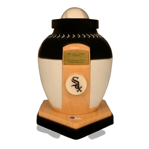 Chicago White Sox Baseball Cremation Urn