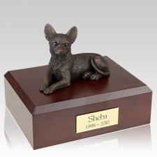 Chihuahua Bronze Dog Urns