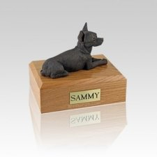 Chihuahua Chocolate Small Dog Urn