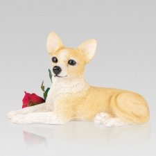 Chihuahua Dog Cremation Urn