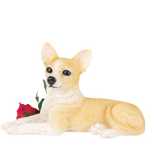 Chihuahua Dog Cremation Urn