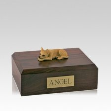 Chihuahua Tan Medium Dog Urn