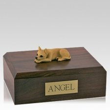 Chihuahua Tan X Large Dog Urn