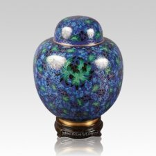 Oriental Dream Medium Cloisonne Urn