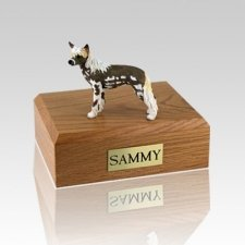 Chinese Crested Large Dog Urn