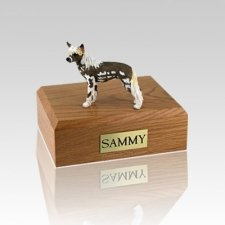 Chinese Crested Medium Dog Urn