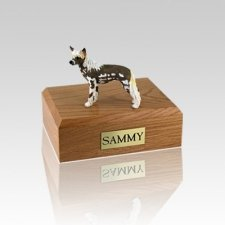 Chinese Crested Small Dog Urn