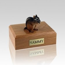 Chipmunk Medium Cremation Urn