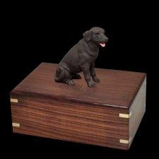 Chocolate Labrador Doggy Urns