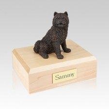 Chow Bronze Medium Dog Urn