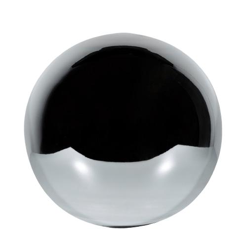 Chrome Glass Cremation Urn