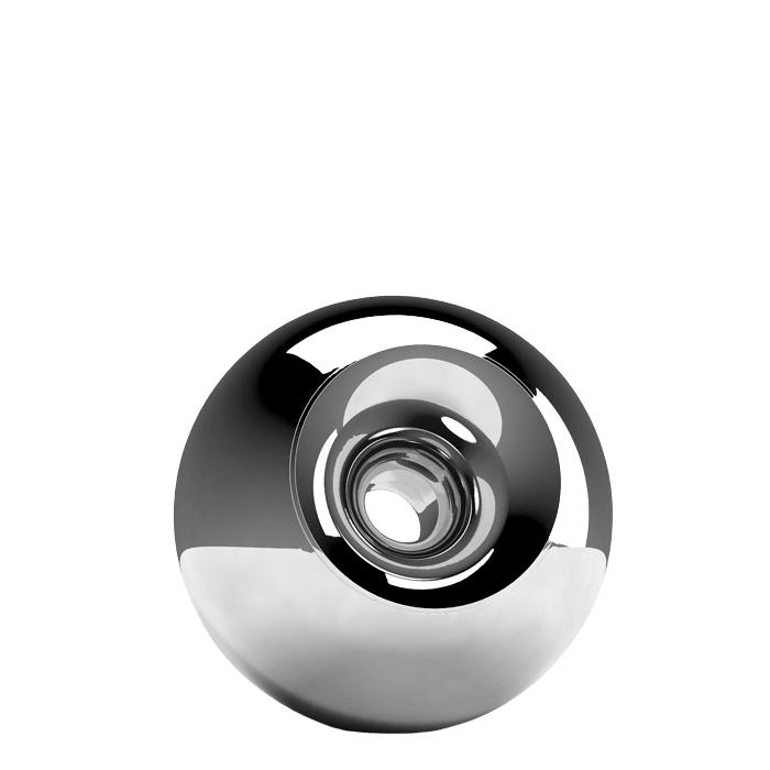 Chrome Orb Small Urn
