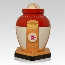 Cincinnati Reds Baseball Cremation Urn